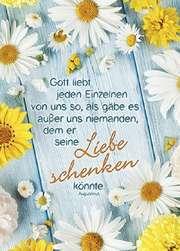 Postkarten: Gott liebt jeden Einzelnen, 12 Stück