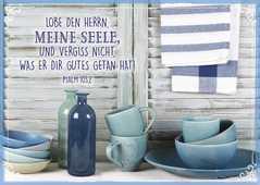 "Postkartenserie ""Lobe den Herrn"" - 12 Stück"