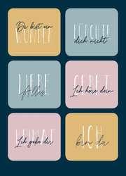 Postkarte - Du bist ein Wunder (Sticker)