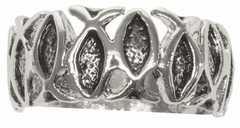 """Ring """"Ichthys-Fisch"""", Größe 19"""