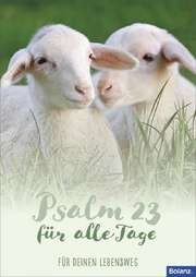 "Grußheft ""Psalm 23"""