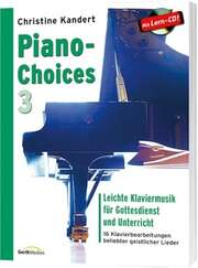 Piano-Choices 3 (Notenausgabe + CD)