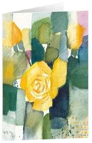 """Kunstkarten """"Rosen"""" - 5 Stück"""