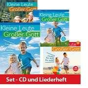 Kleine Leute - Großer Gott - Liederbuch + 5 CDs