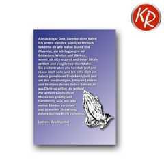 Postkarte - Luthers Beichtgebet