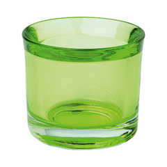 Kerzenglas - grün