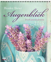 Augenblick 2018 - Postkartenkalender
